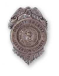 Jefferson County Deputy Sheriff Badge 2